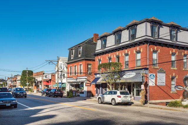 Main Street East Greenwich, Rhode Island